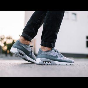 Nike Air Max 90 Ultra 2.0 Flyknit Cool Grey